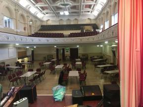 Ossett Town Hall pre-gig